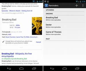 """Check out Google's new """"Remind Me"""" feature for TV shows ..."""