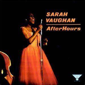 After Hours (1961 Sarah Vaughan album) - Wikipedia
