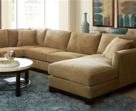 kenton fabric 3 chaise sectional sofa furniture
