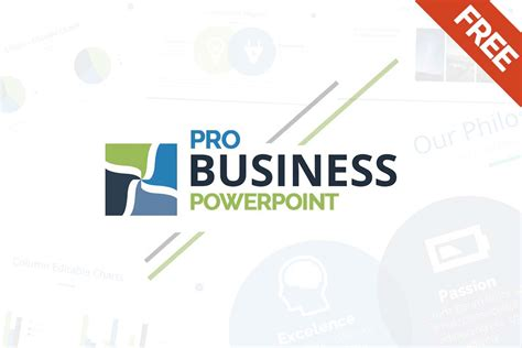 Free Business Powerpoint Template Ppt, Pptx Download