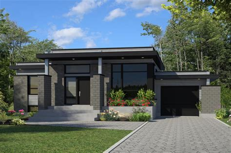 house plans and design contemporary house plans with contemporary house plan 158 1263 3 bedrm 1268 sq ft