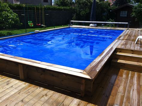 piscine rectangulaire semi enterr 233 e