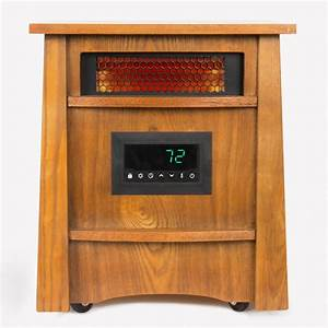 Lifesmart Furniture Style 8-Element Infrared Heater-HT1121 ...