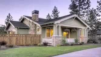 northwest style craftsman house plan single story