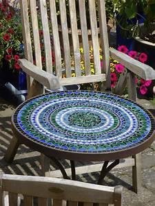 Runder Tisch 70 Cm : mosaiktisch manufaktur voecks adams ~ Markanthonyermac.com Haus und Dekorationen