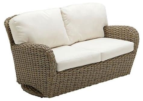 sunset seating outdoor loveseat outdoor glider with