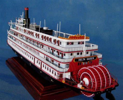 Delta Queen Boat by Delta Queen Model Delta Queen Riverboat Sternwheelers