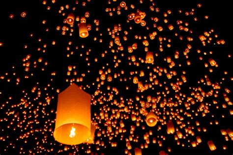 sky lanterns world is the house