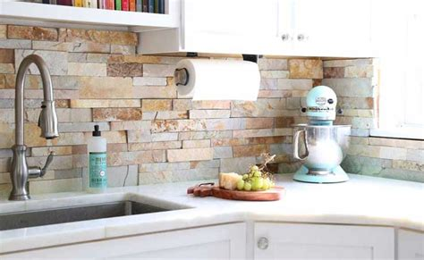 Natural Stacked Stone Backsplash Tiles For Kitchens And Silver Linings Playbook Living Room Scene Open And Kitchen Furniture Placement Side Tables For Melbourne Bar Cabinets Home Organization Design Ideas Wallpaper How To Minimalist Small Off
