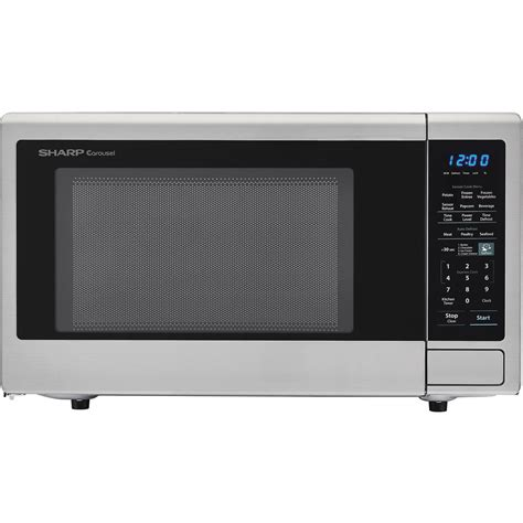 Sharp Carousel 18 Cu Ft 1100W Countertop Microwave Oven