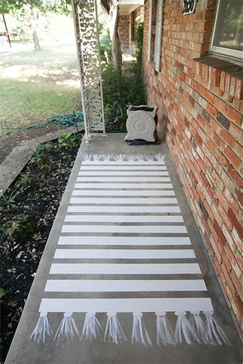 Diy To Try # Painted Front Porch Floor  Ohoh Blog