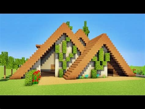 minecraft tuto maison moderne en bois p