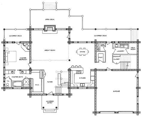 log home floor plan ponderosa log home floor plan westerner