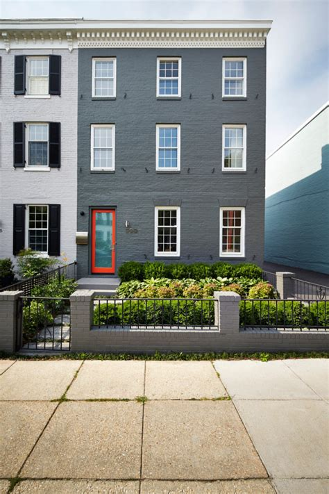 A Renovated Row House In Dc's Capital Hill  Design Milk