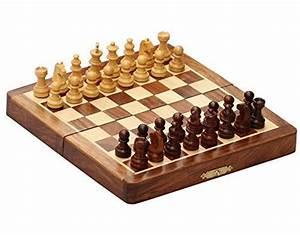 "Best Travel Chess Set - 7"" Magnetic Folding Board ..."