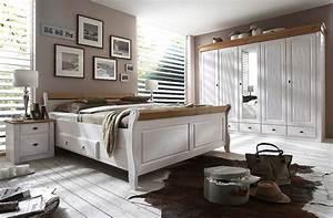 Schlafzimmer Massivholz Landhausstil : massivholz nachttisch nachtschrank nachtkommode kiefer massiv wei gelaugt ~ Markanthonyermac.com Haus und Dekorationen