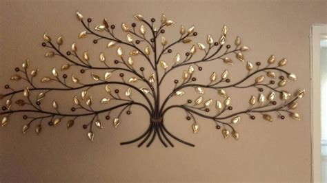 large metal tree wall robinson house decor charming and durable metal tree wall