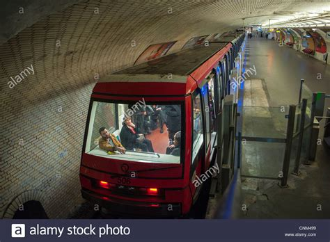 pilotless automatic metro line no 1 at quot porte stock photo royalty free