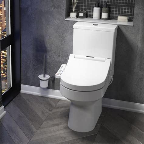 Smart Toilet With Adjustable Bidet Wash Function, Heated