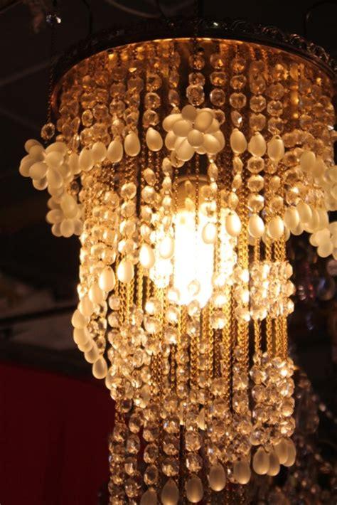lustre en cristal de boh 234 me de style d 233 co puces d oc