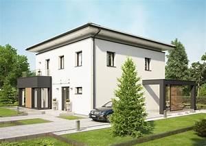 überdachte Terrasse Bauen : moderne stadtvilla concept m 193 bien zenker einfamilienhaus bauen grundriss modern 4 zimmer ~ Markanthonyermac.com Haus und Dekorationen