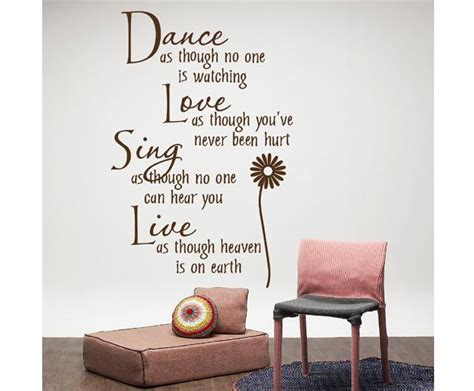 23 40 inches stylish wall stickers home decor quote lettering sticker wall decor