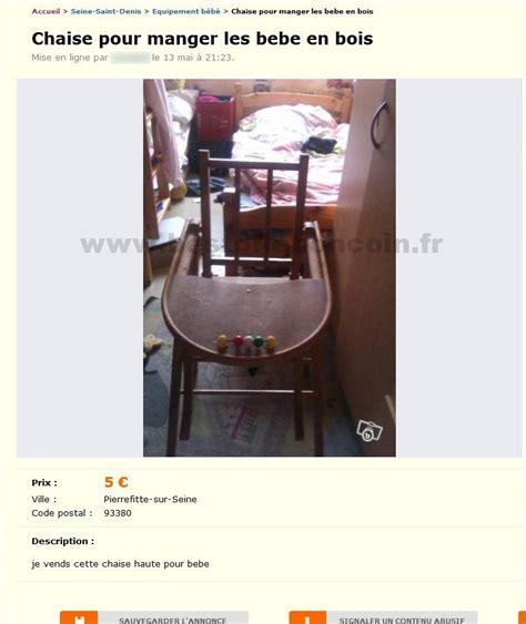 chaise pour manger les bebe equipement b 233 b 233 206 le de best of le bon coin