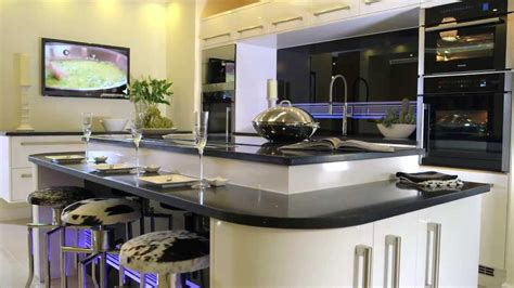 Betta Living New York Higloss Black Fitted Kitchen Youtube