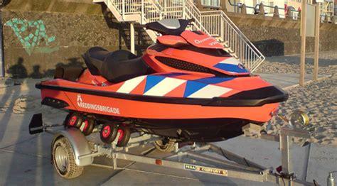 Waterscooter Snelheid by Waterscooter Voor Strandwacht Vlissingen Hvzeeland