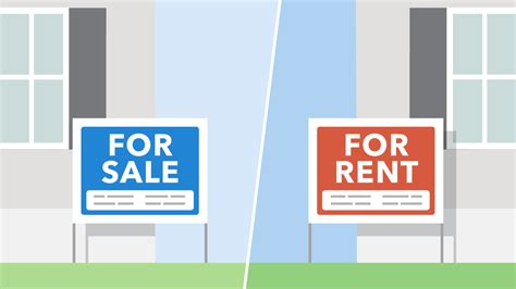 Making The Decision To Rent Or Buy  Consumer Financial