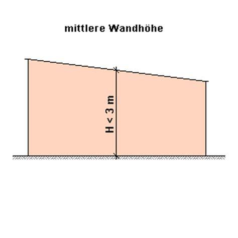 Abstandsflächenrecht, Ausführliche Darstellung Der Regelungen