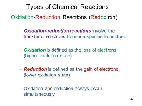 Topic 4 Chemical Reactions  Ppt Download
