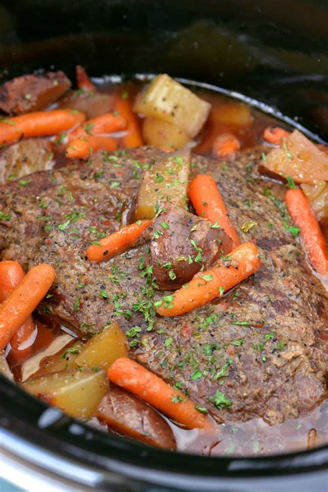 cooker pot roast with the gunny sack