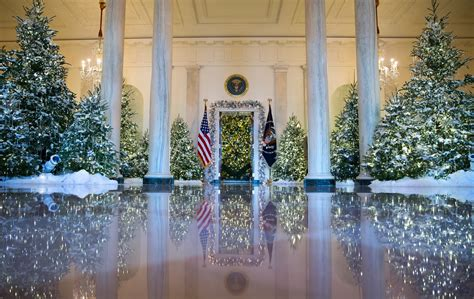 At The White House, The Halls Are Decked For Christmas
