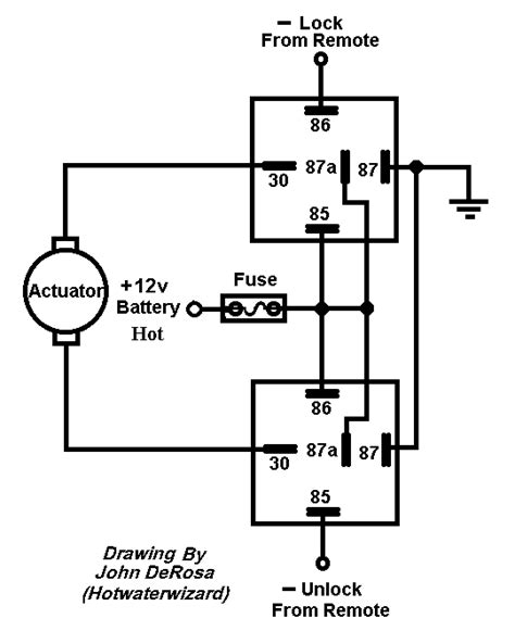 Reverse Polarity On A Boat by Relay Diagram For Switching Polarity