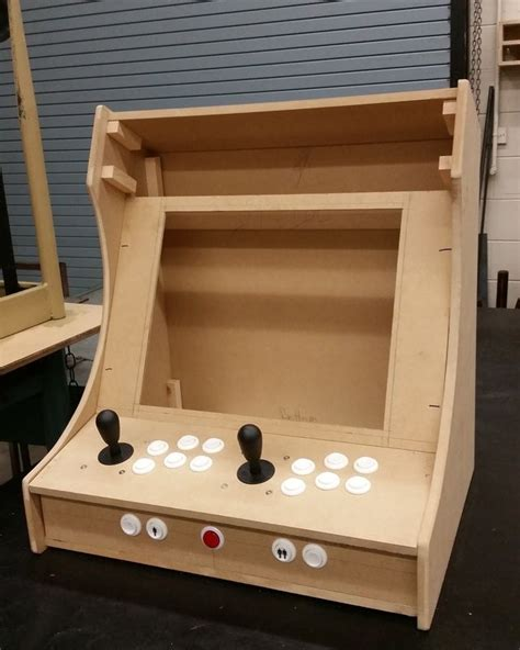plans for building a bartop arcade system using a