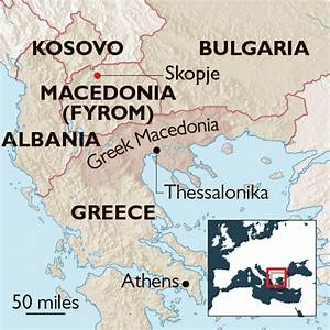 Macedonia tries to join Nato under a new name | World ...