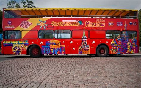 London Sightseeing Bus And Boat by Moscow City Sightseeing Hop On Hop Off Bus And Boat Tour