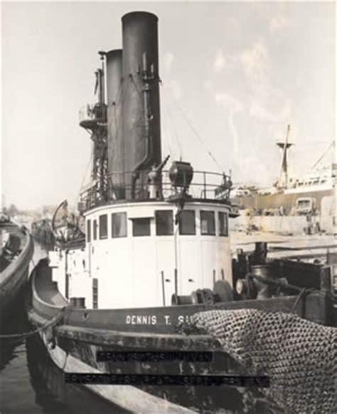 Earthquake Fire Boat by Sf S Legendary Fire Chief Dennis T Sullivan Predicted The