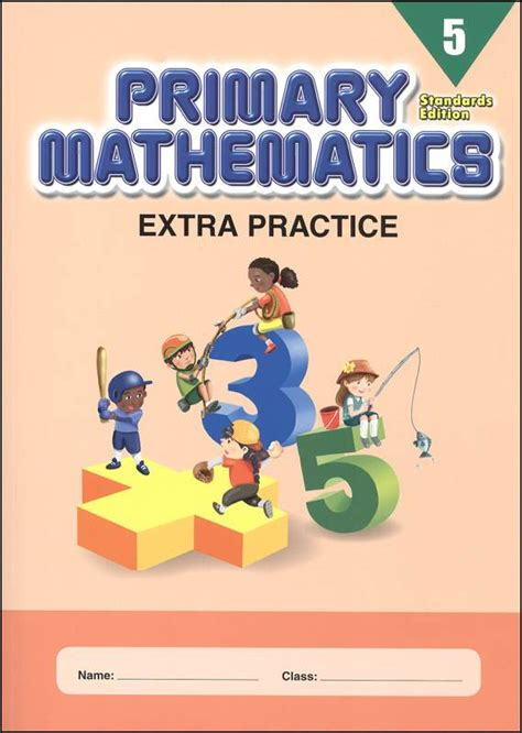 Extra Practice For Primary Math 5 Standards Edition (043041) Details  Rainbow Resource Center, Inc