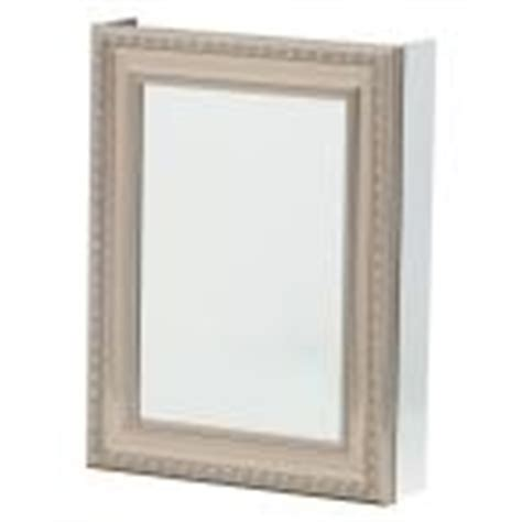 pegasus 20 in x 26 in recessed or surface mount mirrored