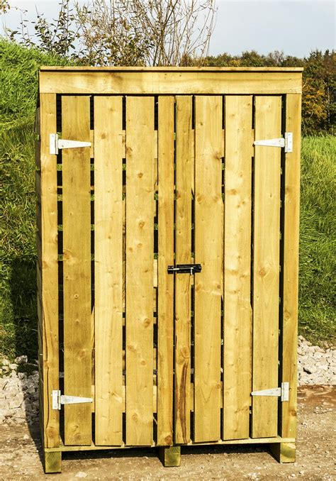 Large Wooden Log Store With Doors (new Design