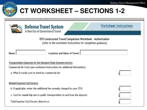 Dts Cost Comparison Worksheet #311514 Myscres