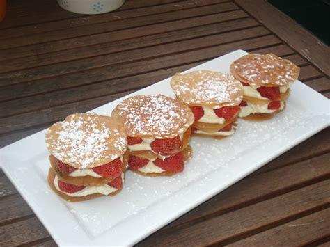 millefeuille express fraises mascarpone apprenti gourmet