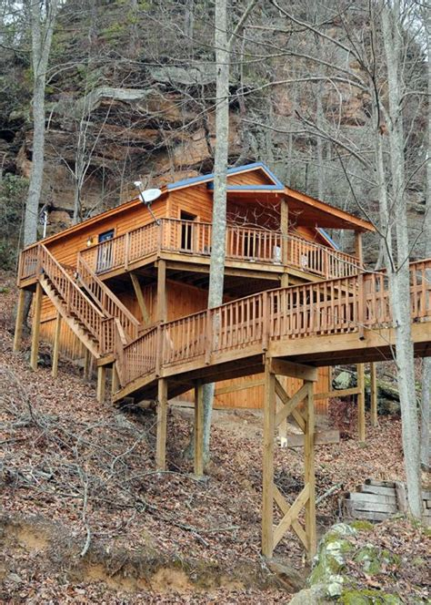 Scenic Cabin Rentals In The Red River Gorge Red River