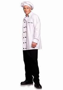 Plus Size Chef Costume - Men's Chef Uniforms