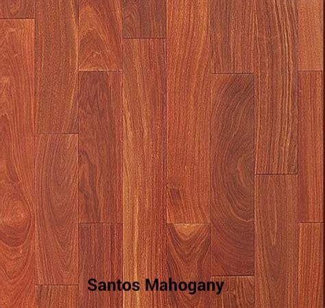 santos mahogany unfinished hardwood flooring hardwood
