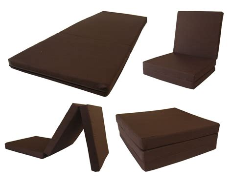 tri fold foam bed 6 bed furniture decoration