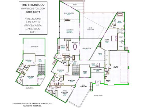modern house floor plans diykidshouses