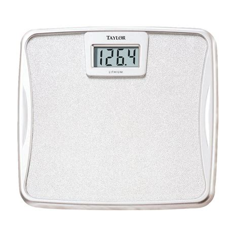 lithium battery digital bath scale 73294012 the home depot